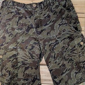 Boys Lucky Brand Camo Shorts